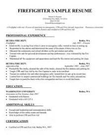 sle wildland firefighter resume resume sle firefighter resume template http resumecompanion resume sles
