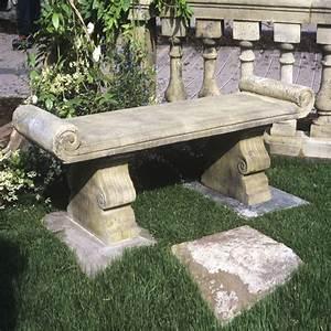 Holzwände Für Garten : antik steinbank f r den garten cambridge ~ Sanjose-hotels-ca.com Haus und Dekorationen