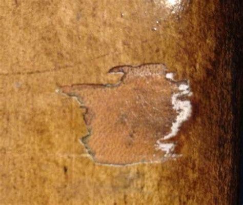 refinish veneer  leather wrapped bombe