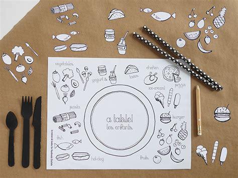 diy coloring placemats handmade charlotte
