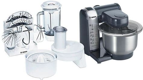 Bosch 550 W Multifunction Food Mixer With Citrus Press