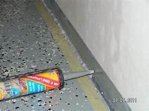 Spalt Zwischen Sockelleiste Und Boden : fu bodenfuge in der garage dicht machen baublog von katja alexey ~ Orissabook.com Haus und Dekorationen