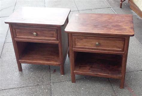 10 Wide Nightstand by Uhuru Furniture Collectibles Sold 8224 Vintage Elm 22