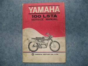 Used Yamaha 100 L5ta Service Manual Guide Book L5 Ta 81