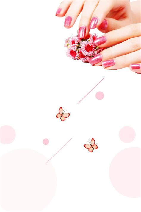 fun finger nail polish nail ads background