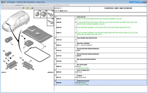 Peugeot 807 Wiring Diagram by Read Peugeot Wiring Diagrams With Peugeot Service Box