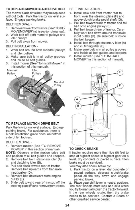 craftsman lt1000 drive belt size sears lt1000 mower wiring diagram sears free