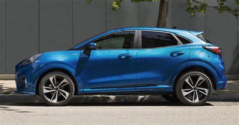 ford puma suv unveiled   ecoboost hybrid