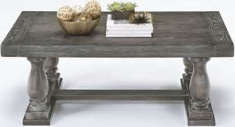muse dove gray cocktail table from progressive furniture