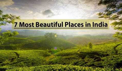 Beautiful Places In India With Images
