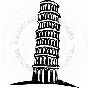 Leaning Tower of Pisa by xochicalco | Toon Vectors EPS #27674