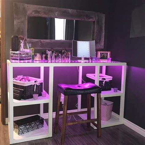 makeup vanity ideas stayglam