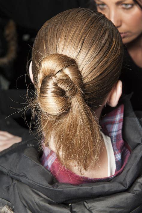 Autumn/Winter 2015: Backstage Beauty Hair hacks Hair