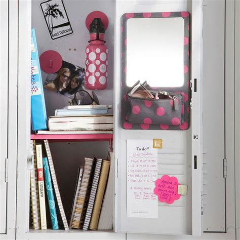 Decorating Books For School by Misscouture17 Back To School Locker Organization Tips