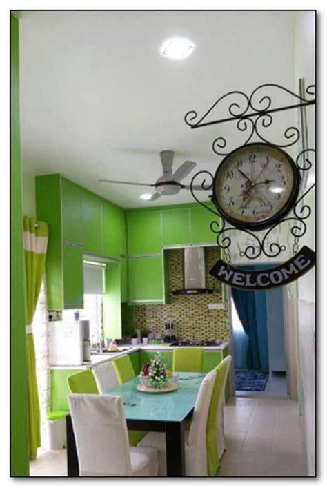 Desain Ruang Tamu Sempit Ukuran 3 X 4 Warna Hijau Muda