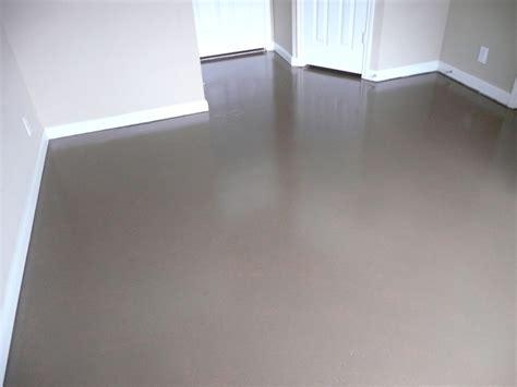concrete floor painting  sealing broom construction