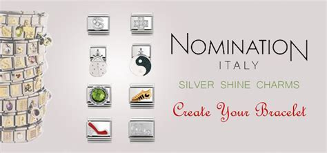 Nomination Silver Shine Charms   Nomination Charms