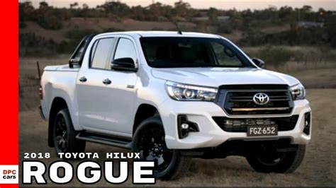 toyota hilux rogue youtube