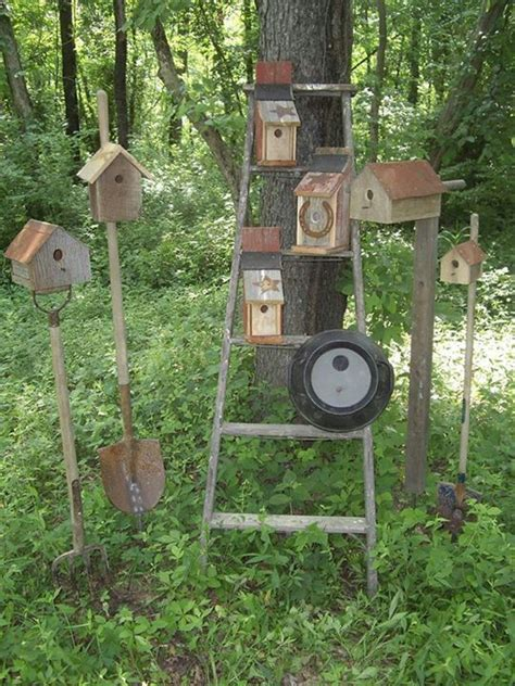 25 unique primitive outdoor decorating ideas on