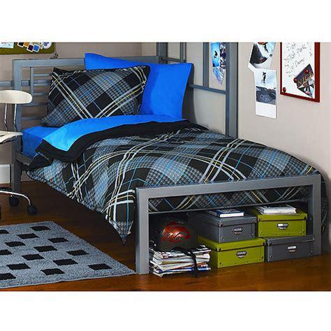 bed walmart your zone metal bed colors walmart