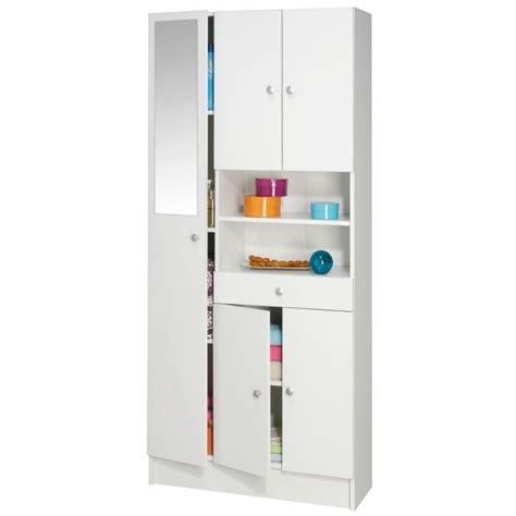 armoire salle de bain imbattable armoire de salle de bain l 82 cm blanc mat achat vente colonne armoire sdb
