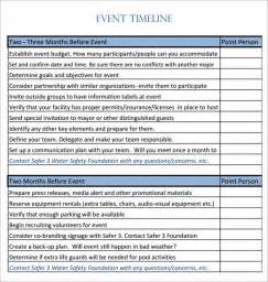 wedding timeline checklist event timeline 9 free documents in pdf doc
