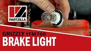 Replace The Brake Light On A Yamaha Grizzly