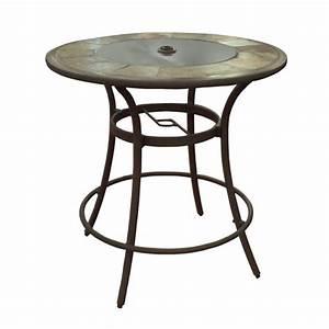 Beistelltisch 40 X 40 : shop allen roth safford 40 in w x 40 in l round bar table at ~ Bigdaddyawards.com Haus und Dekorationen
