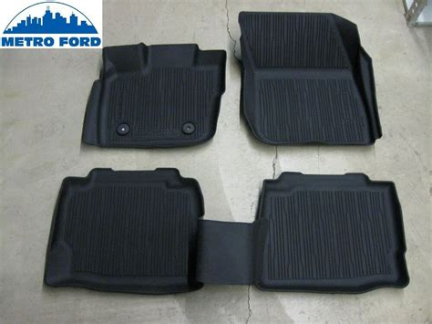 2017 Fusion Oem Ford All Weather Tray Style Molded Black