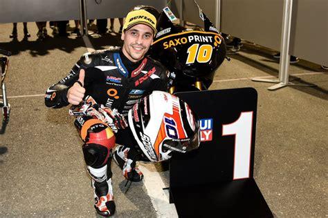 masbou en pole pour louverture de la saison moto motogp