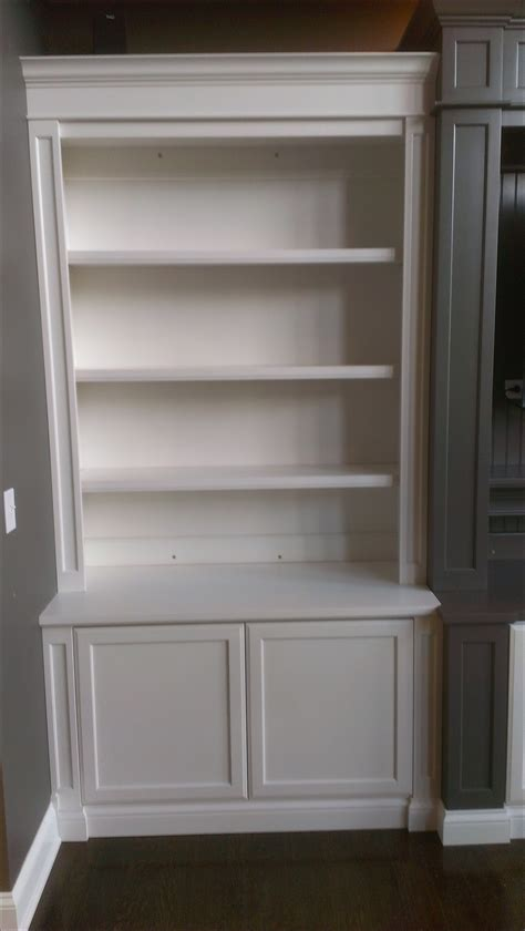 15 Photos Bookcase With Cabinet Base Cabinet Ideas