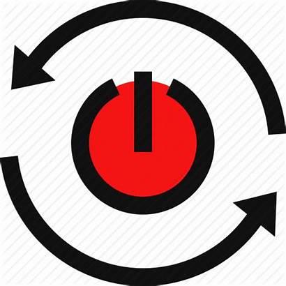 Reset Restart Button Icon Transparent Reboot Background