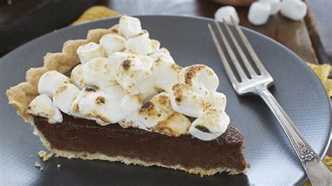 recette avec guimauve dessert tarte au chocolat et guimauve tenderflake