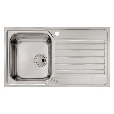 flush kitchen sink abode connekt flush fit 1 0 bowl sink sinks taps 1036