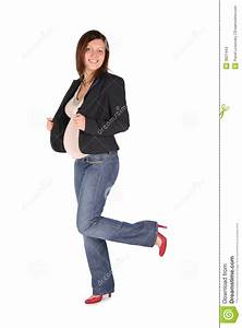 Pregnant Full Body Woman Stock Image  Image Of Face  Human