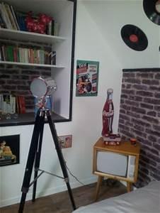 Table De Nuit Maison Du Monde : chambre vintage 13 photos cardon ~ Teatrodelosmanantiales.com Idées de Décoration