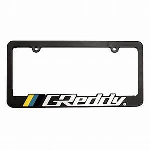 GReddy License Plate Frame SRT 4 Accessories