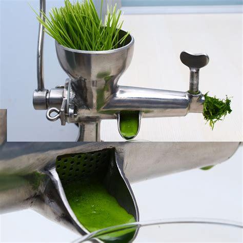 wheatgrass grass wheat juicer juice manual