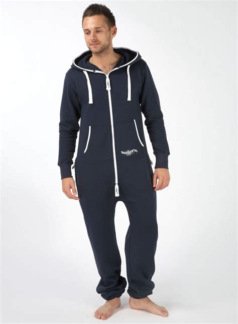 jumpsuit mens mens snuggaroo navy one onesie jumpsuit cozy من