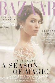 gemma arterton  harpers bazaar uk magazine january