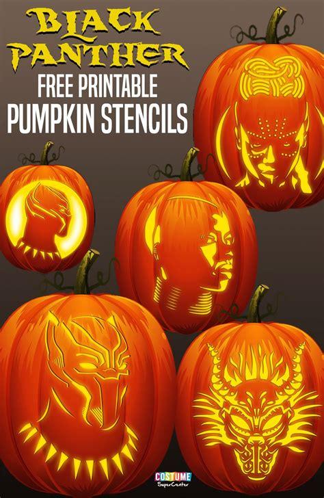 black panther pumpkin stencils stuff   boys