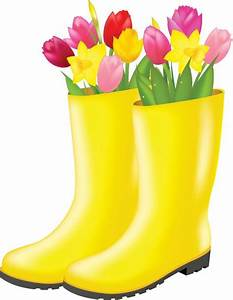 Clipart rain boots collection
