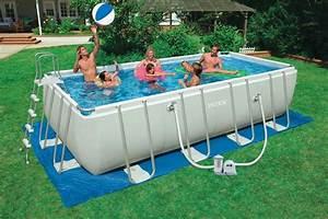 Intex Frame Pool 549x274x132 : 28352 piscina intex rettangolare ultra frame 549x274x132 offerte piscine interrate ~ Yasmunasinghe.com Haus und Dekorationen