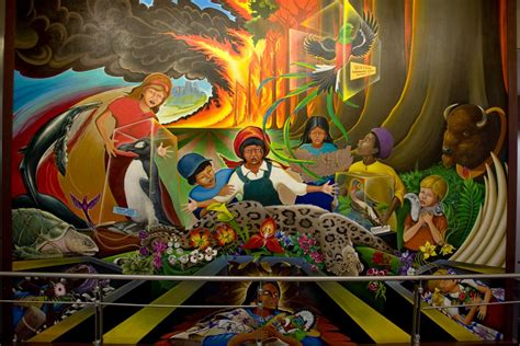 denver international airport murals location whistleblower reveals secret underground base beneath