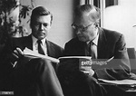 Austrian actor Karlheinz Bohm with his father, orchestral ...