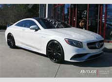 Mercedes SClass Coupe with 22in Vossen VFS2 Wheels