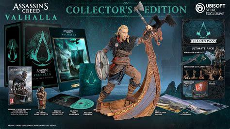 assassins creed valhalla pre order bonuses special editions