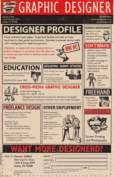 15 cool and creative resumes bored panda