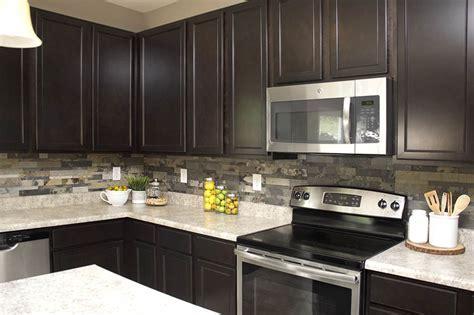 Faux Stone Kitchen Backsplash   How To Nest For Less