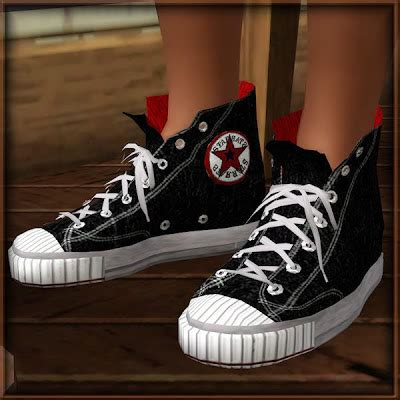 empire sims  converse sneakers  bobby